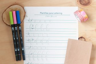 Lettering plantillas