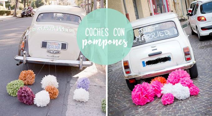 coches-novios-pompones