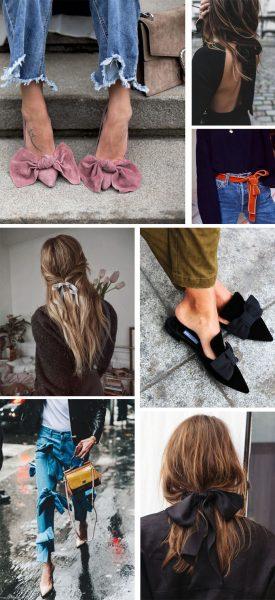 inspiracion lazos ropa