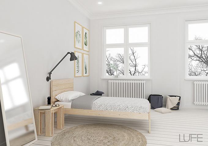 diseño Nórdico muebles Lufe