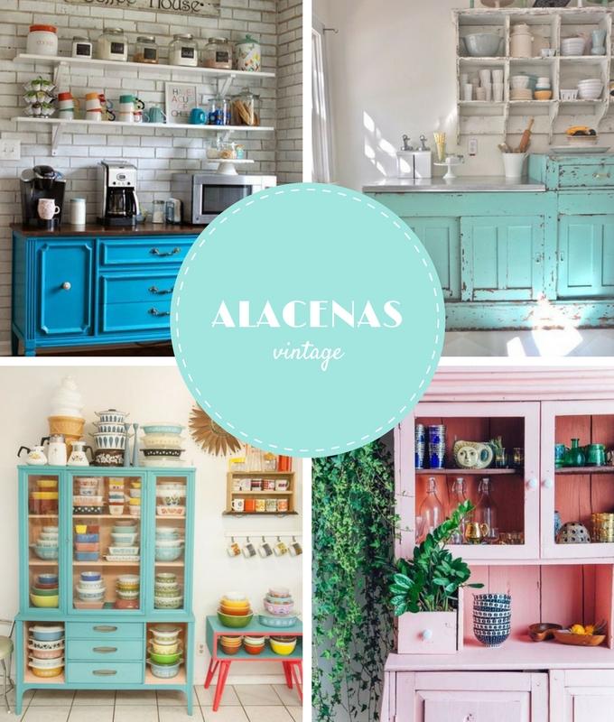 Deseos confesables una alacena vintage bonitismos for Alacenas vintage