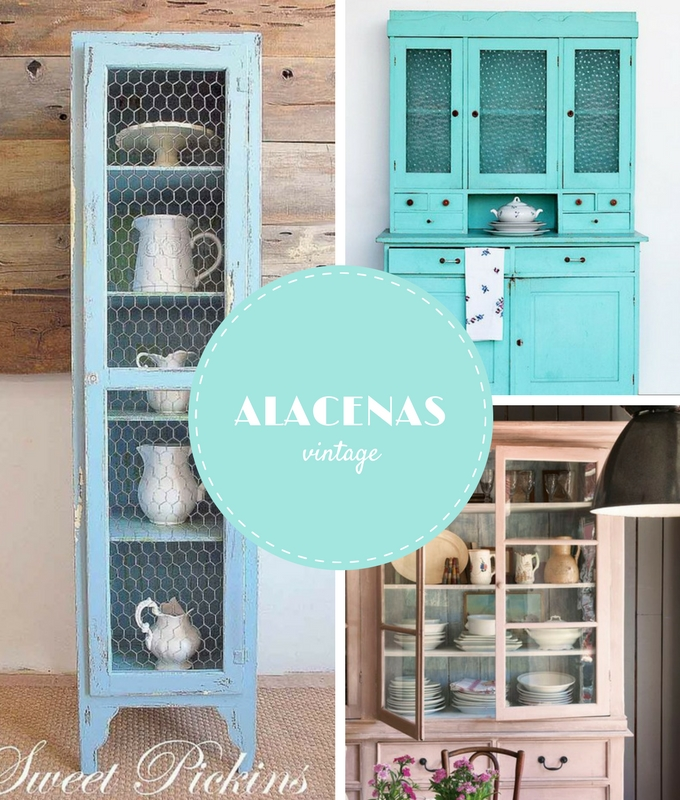 Decoraci n archives bonitismos for Alacenas vintage