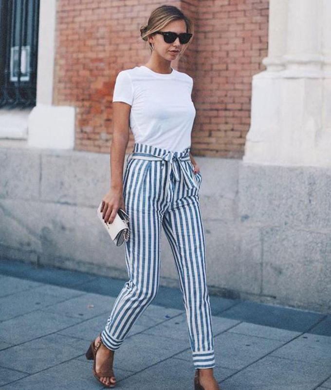 pantalón rayas verticales