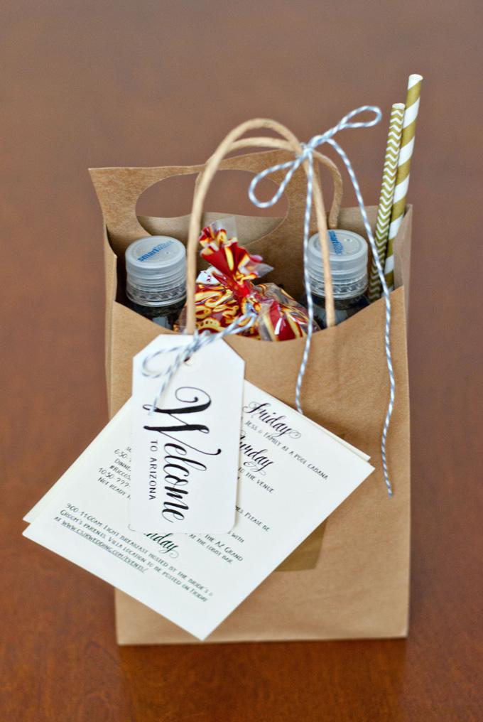 bolsas de bienvenida boda