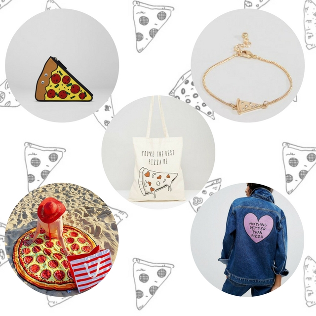 regalos con forma de pizza