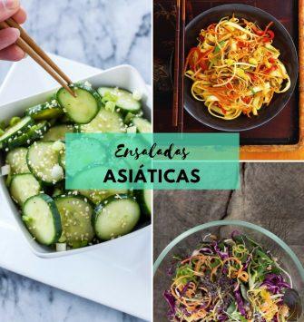 ensaladas asiáticas
