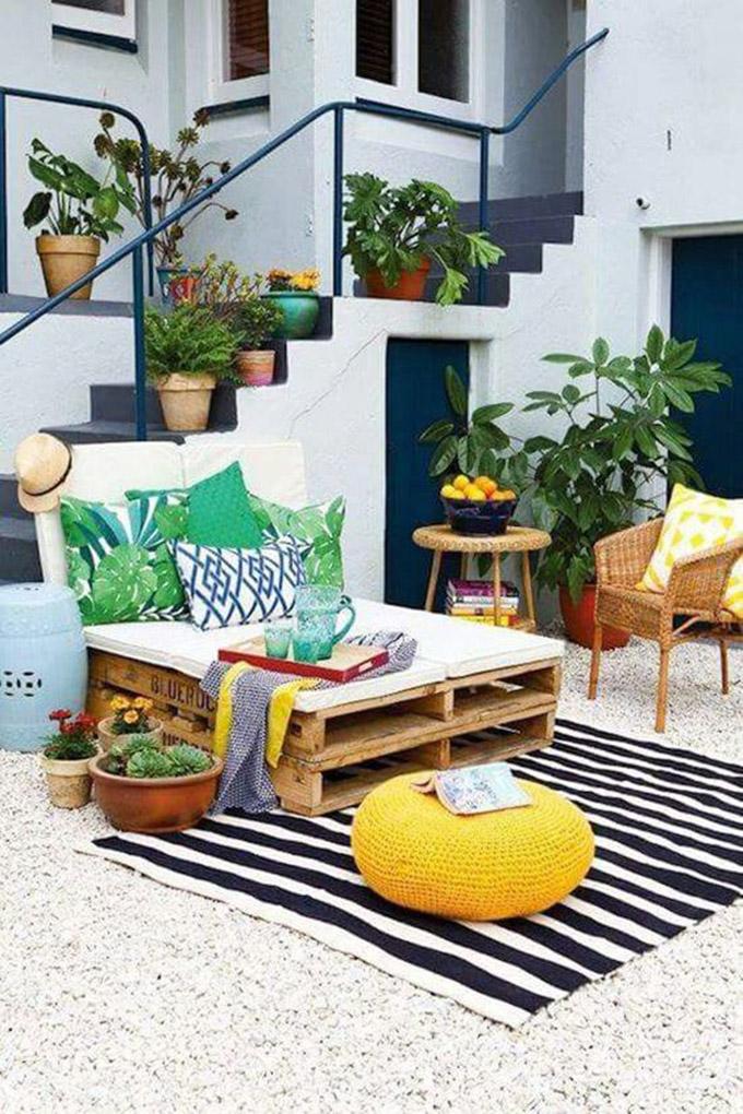 Inspiraci n decoraci n de terrazas bonitas para este verano for Terrazas bonitas