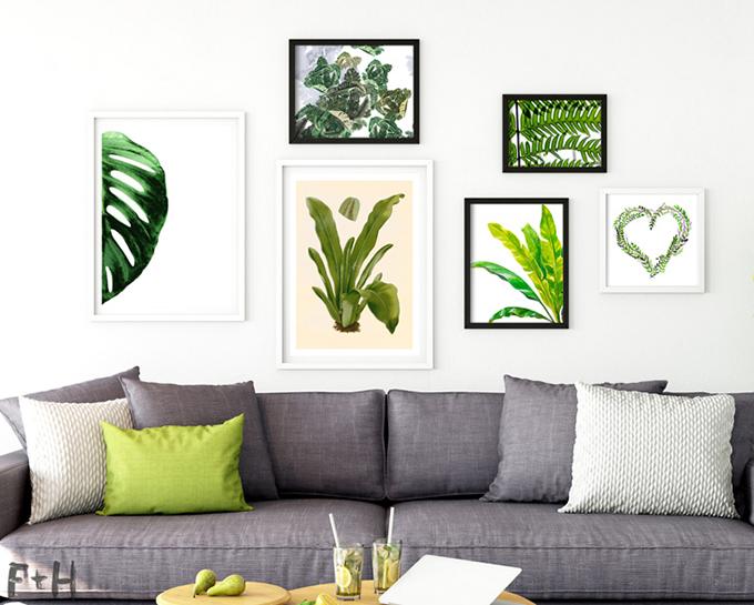 L minas veraniegas para decorar las paredes de tu casa for Laminas de plastico para paredes
