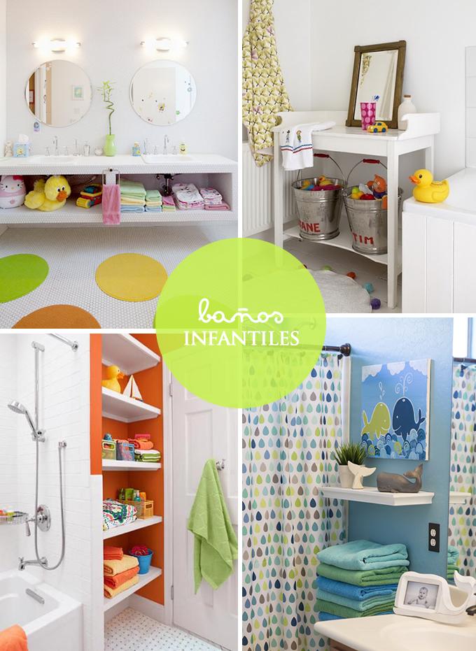 cuartos de baño niños