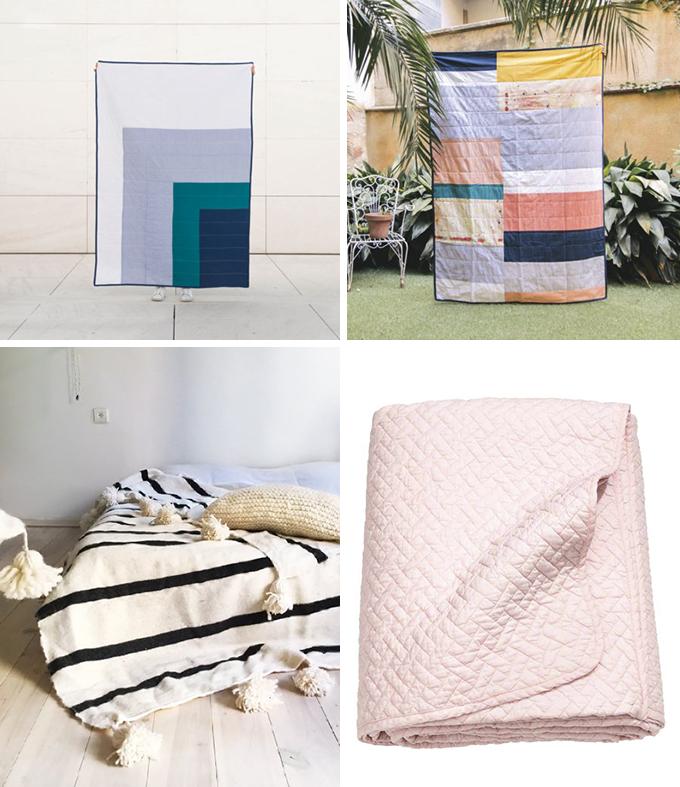 colchas y mantas