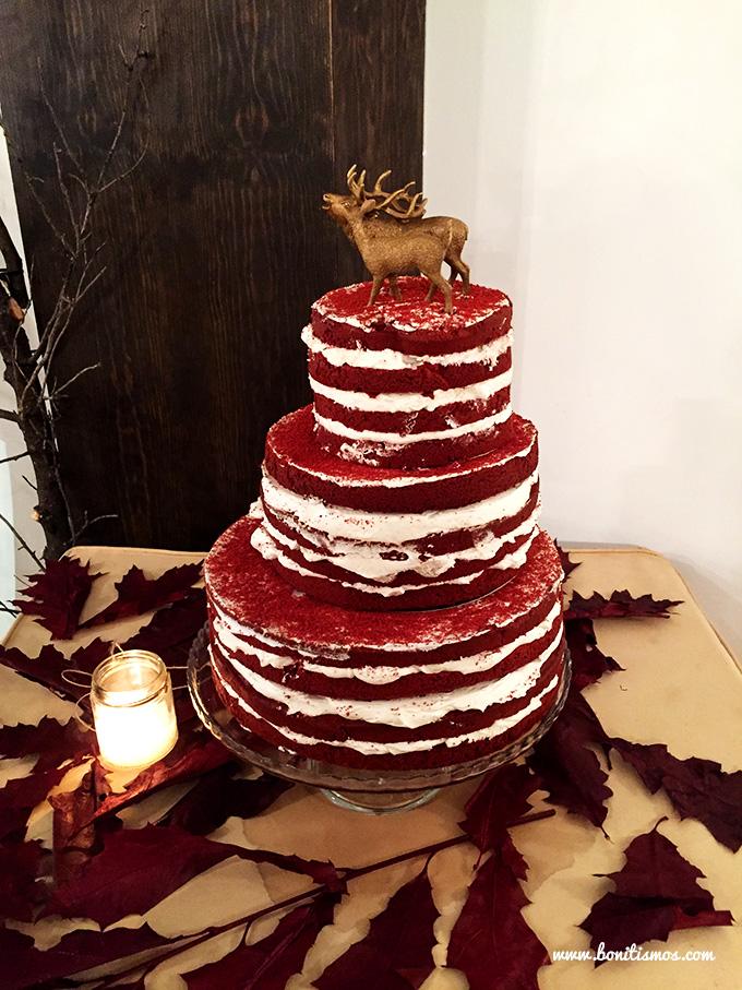tartas boda invierno
