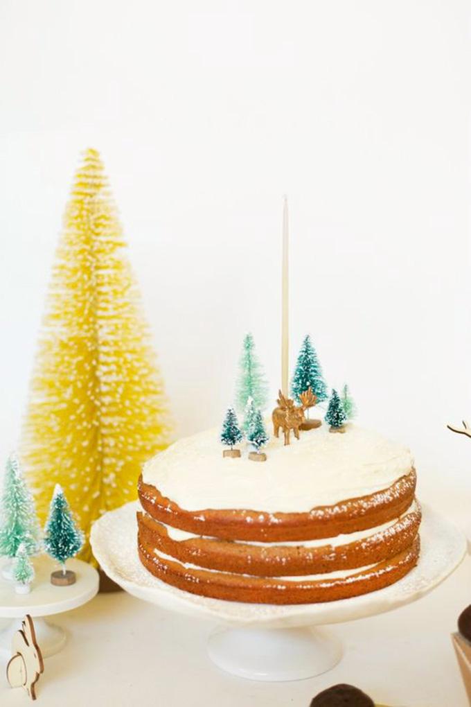 idea tarta navidad