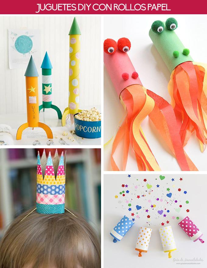 juguetes diy rollo papel higiénico