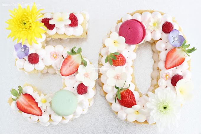 tartas de números