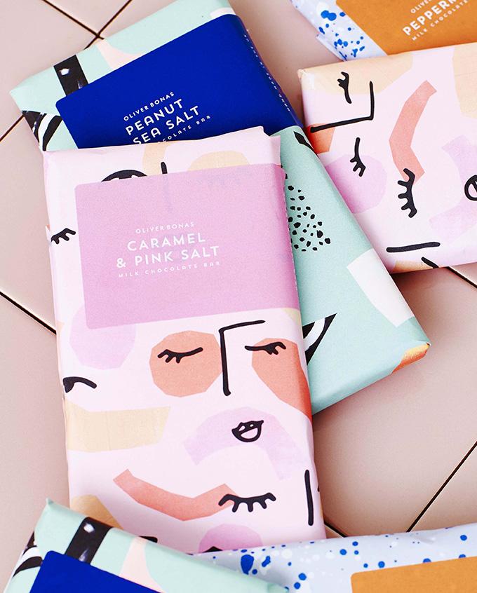 packaging chocolate Matisse