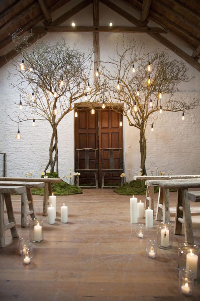 altar boda de invierno