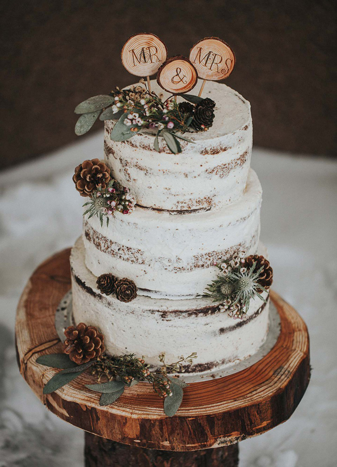 tarta boda de invierno