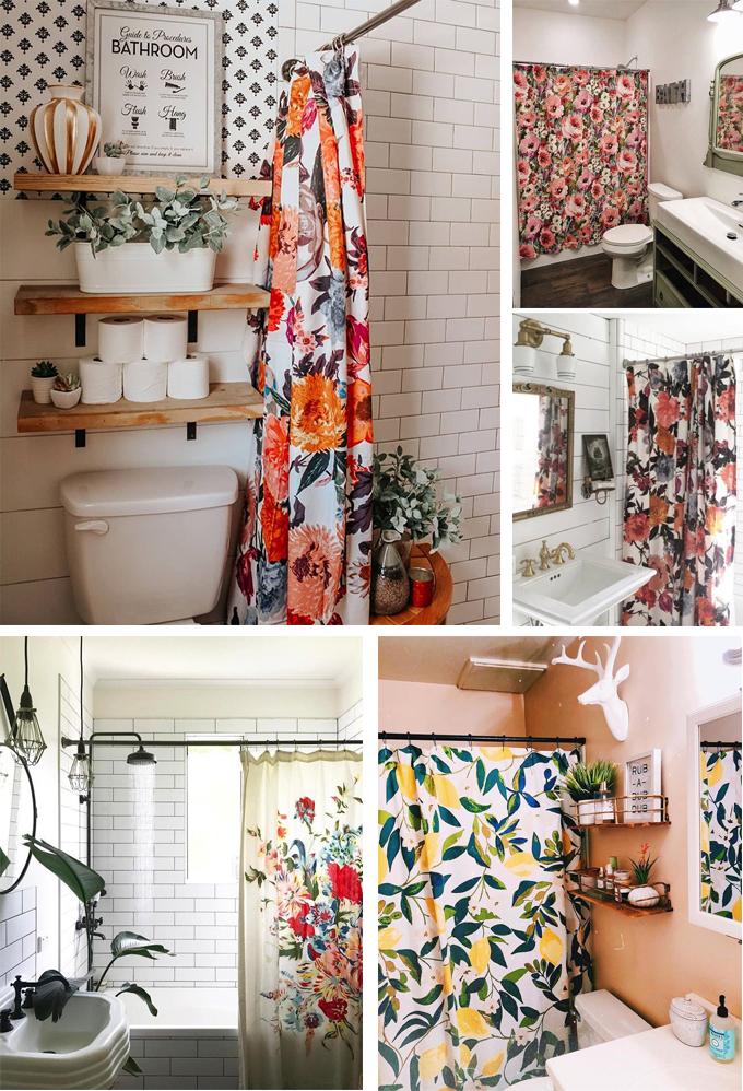 cortinas baños