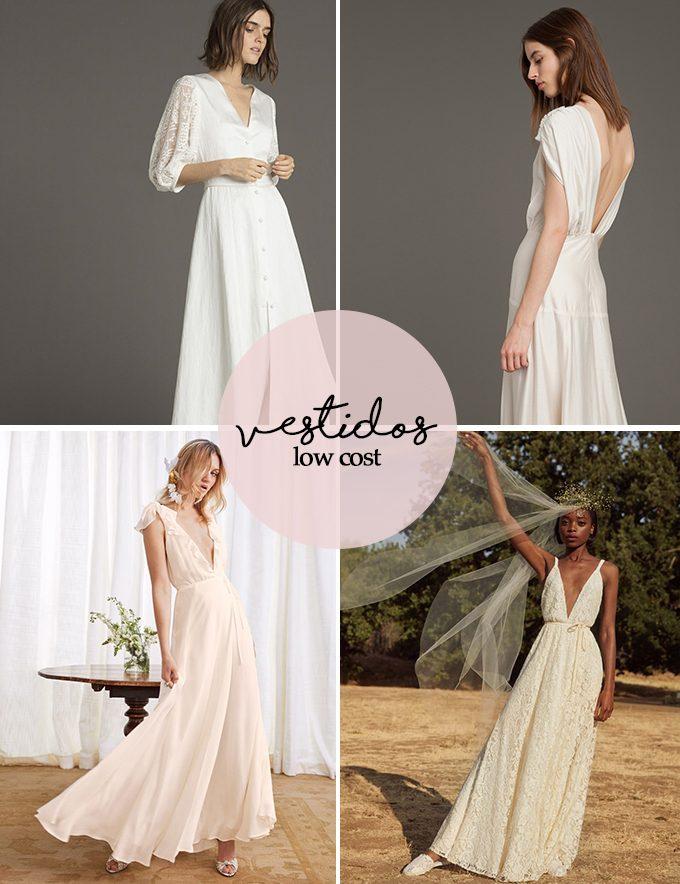 vestidos novia lowcost