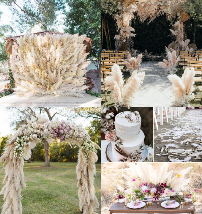 bodas con plumas