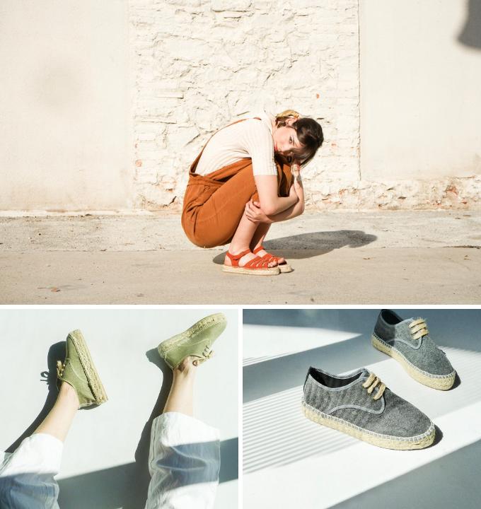 alpargatas polka shoes