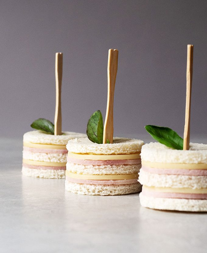 sandwiches cumpleaños