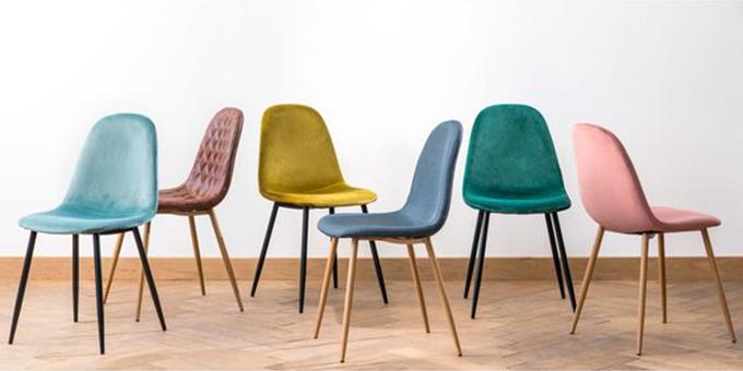 sillas de terciopelo