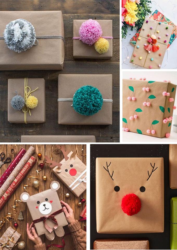 regalos papel craft