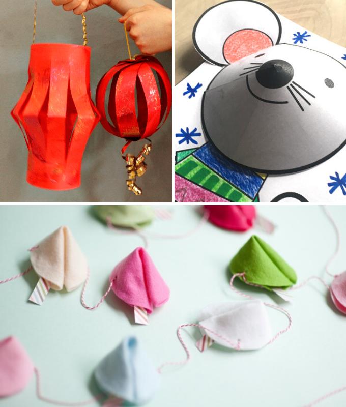 año nuevo chino DIY